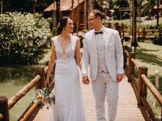 O casamento de Cheila e Marcos