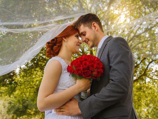 O casamento de Carol e Marcelo