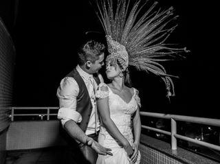 O casamento de Milena e Christian