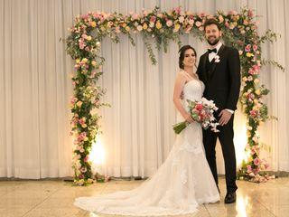 O casamento de Alessandra e Bruno