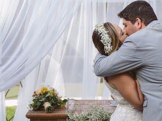 O casamento de Leyza e Alison