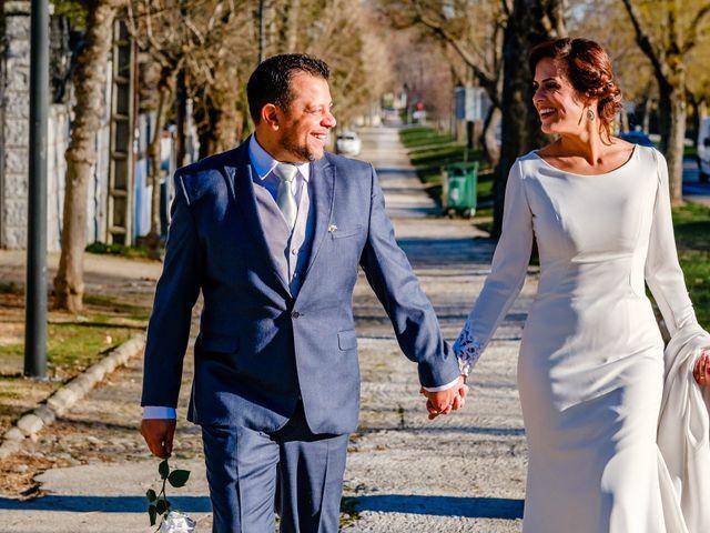 O casamento de Lucinéia e Thomas