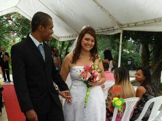 O casamento de Cláudia e Douglas