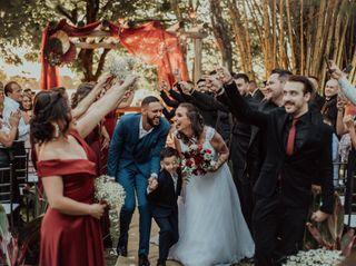 O casamento de Pamela e Marlon