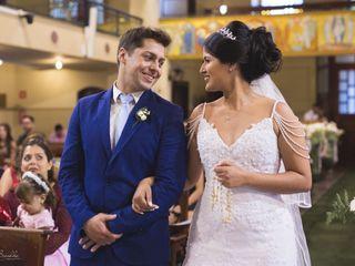 O casamento de Aline  e Alex
