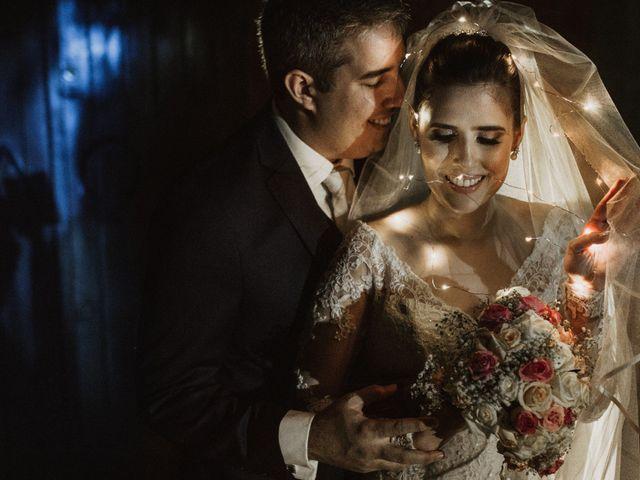 O casamento de Cassandra e Pedro