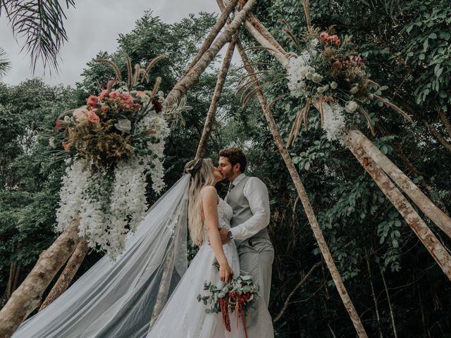 O casamento de Carolina e Athos