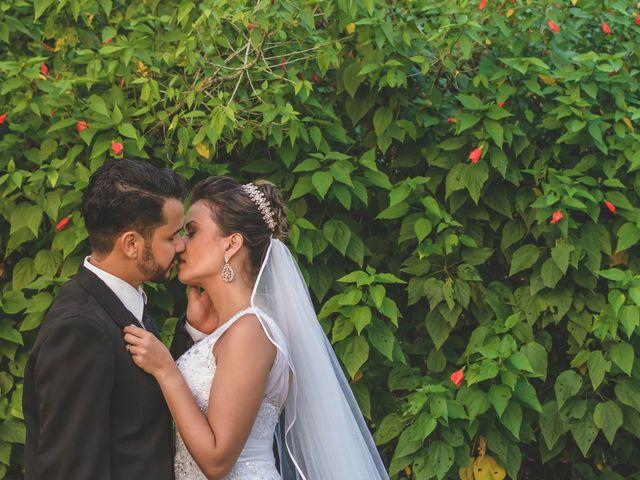 O casamento de Camila e Rodolfo