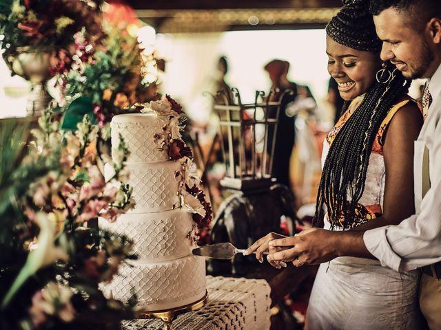 O casamento de Larissa e Shalom