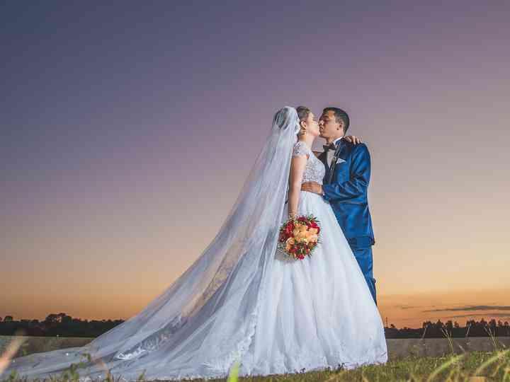 O casamento de Jordanna e Victor