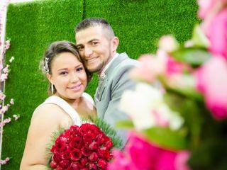 O casamento de Camila e Zezilton
