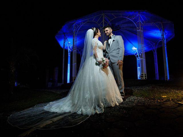 O casamento de Alana e Natanael