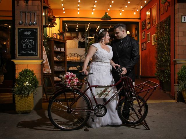 O casamento de Ariane e Leandro