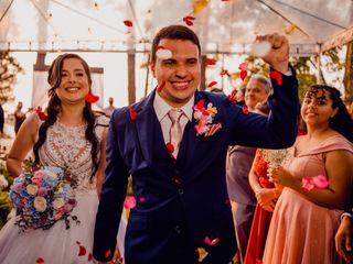 O casamento de Elaine e Claudinei