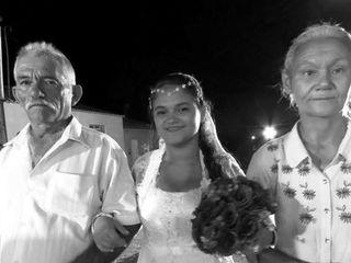 O casamento de Maria e Wiris 3