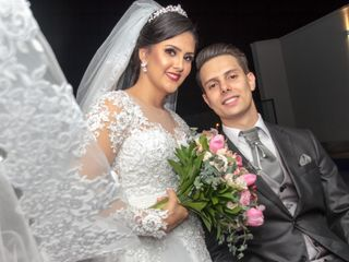 O casamento de Aleciane e Bruno