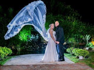 O casamento de Leandro e Gabriela