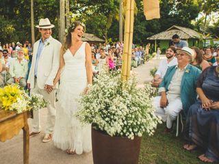 O casamento de Luize e Roberto