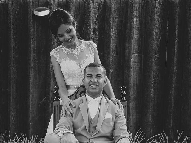 O casamento de Alan e Taiane
