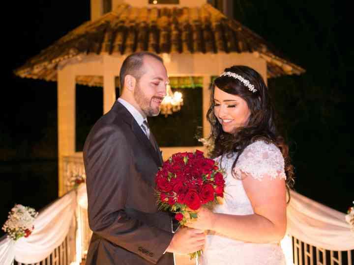 O casamento de Camila e Marcelo