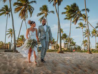 O casamento de Jaqueline e Tercio