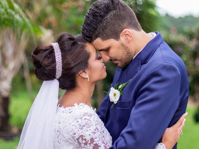 O casamento de Érica e Hugo