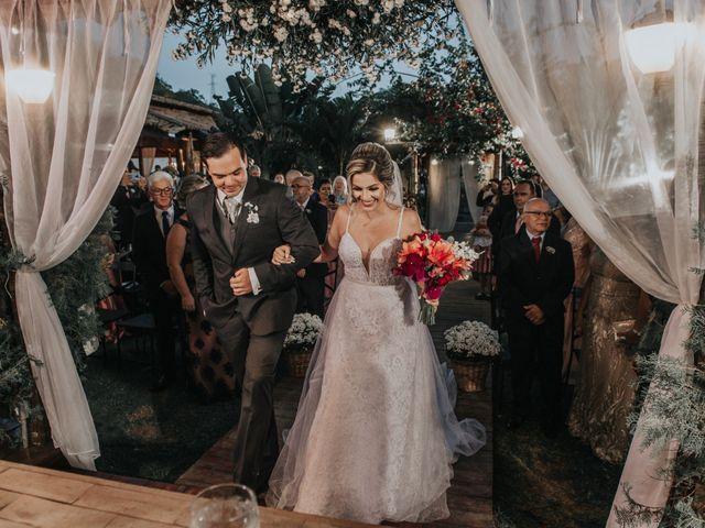 O casamento de Flaviane e Carlos