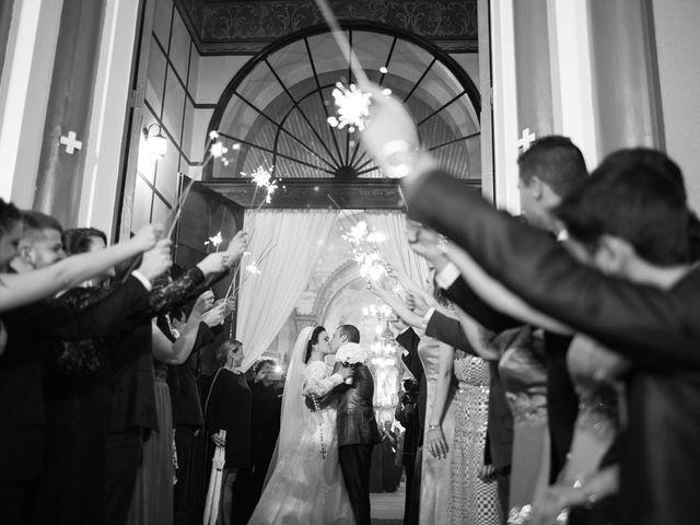 O casamento de Thereza e Michel