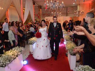 O casamento de Cinthya e Cláudio