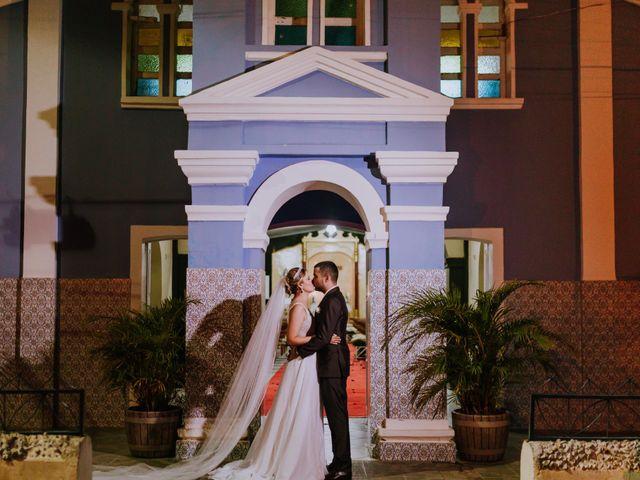 O casamento de Angélica e Bruno