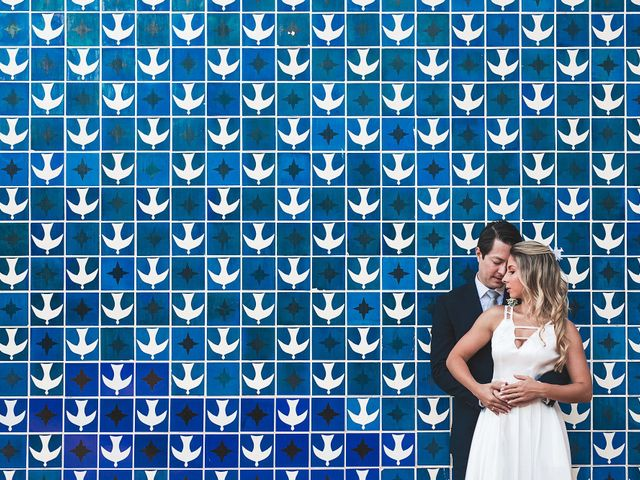O casamento de Alberto e Juliana