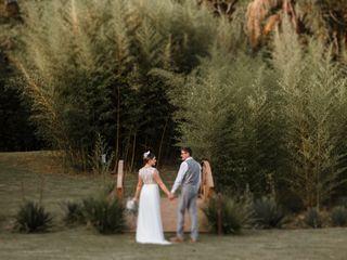 O casamento de Aline e Robson