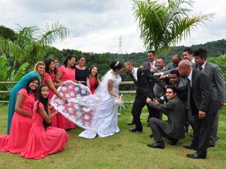 O casamento de Áurea e Luciano