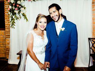 O casamento de Gustavo e Aíra
