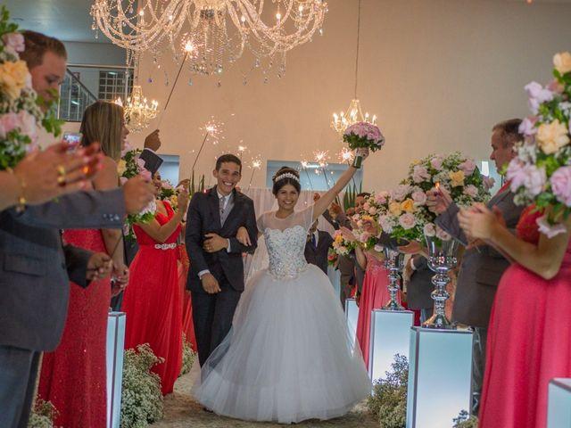 O casamento de Lays e Arthur