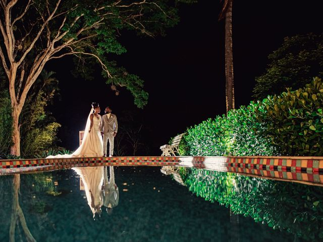 O casamento de Evie e Clayton