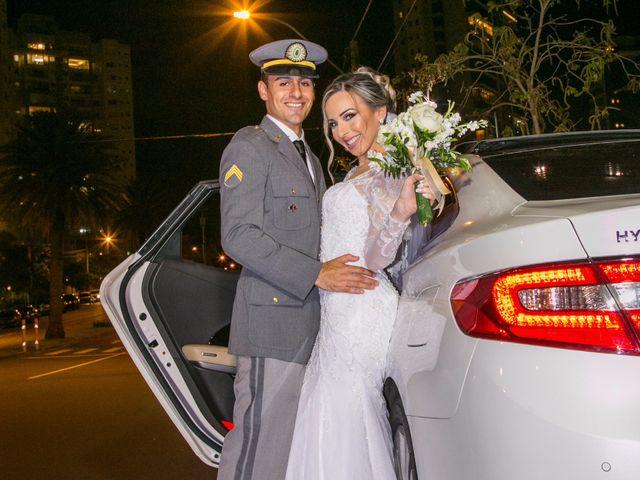 O casamento de Samanta e Théo