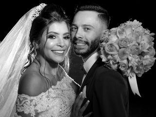 O casamento de Evelyn e Albert