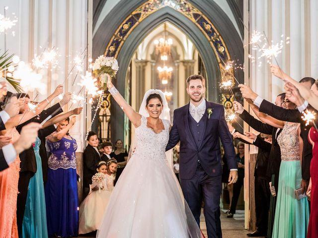 O casamento de Rafella e Victor