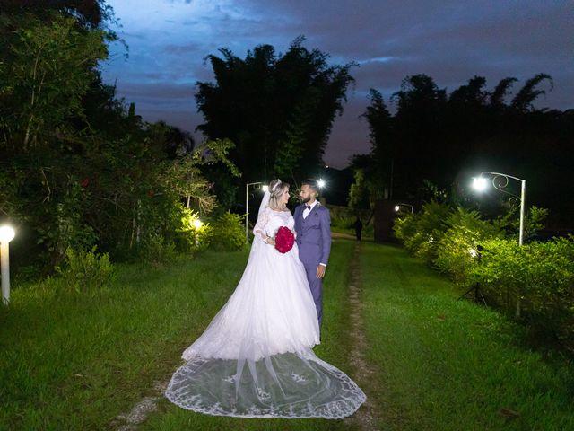 O casamento de Carolyne e Felipe