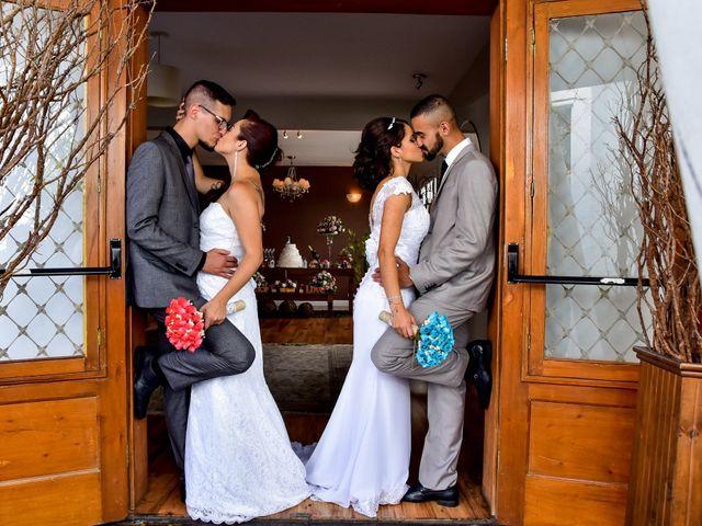O casamento de Thais,  Jéssica e Vinicius, Pedro