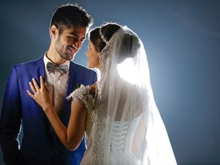 O casamento de Camila e Abner