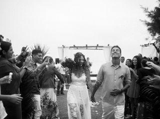 O casamento de Freya e Renzo