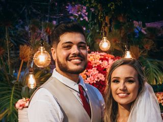 O casamento de Myllena e Arthur