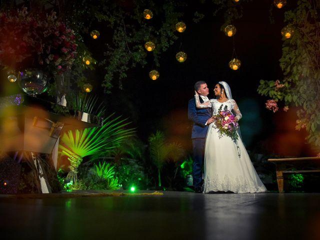 O casamento de gisely e philipe