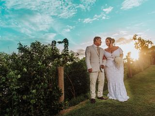 O casamento de Kallyne e João