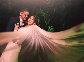 O casamento de Luciana e Gustavo