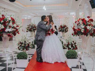 O casamento de Evanessa e Gabriel
