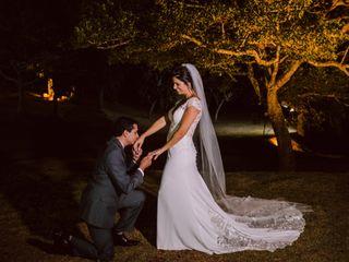 O casamento de Adria e Eder