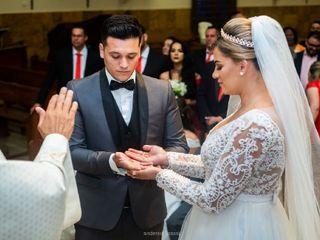 O casamento de Karina e Leandro